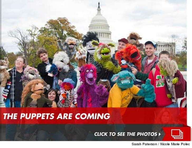 The Puppets Are Coming