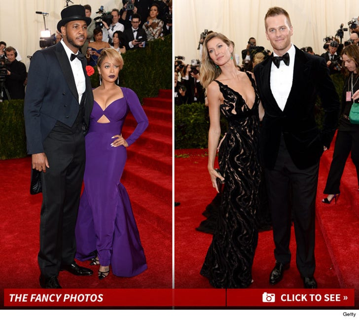 Sports Stars at the Met Gala -- The Fashion Photos