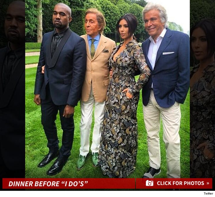 "Kim and Kanye -- The Dinner Before ""I Do's"""