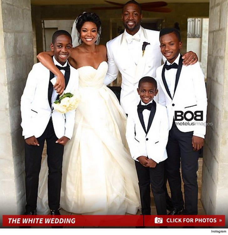 Dwyane Wade & Gabrielle Union Wedding Photos
