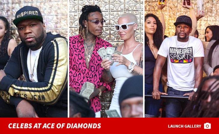 Celebs at Ace of Diamonds