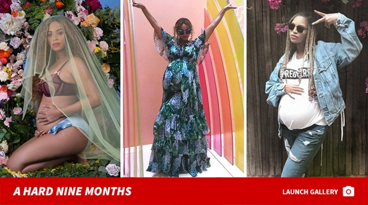 Beyonce's Second Pregnancy - A Hard Nine Months