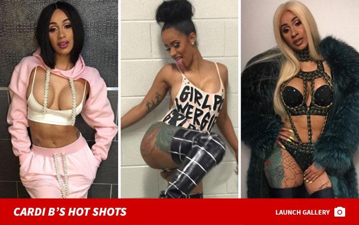 Cardi B's Hot Shots