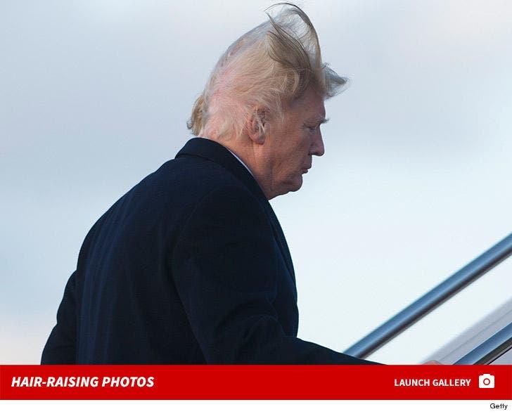 Trump's Hair-Raising Photos