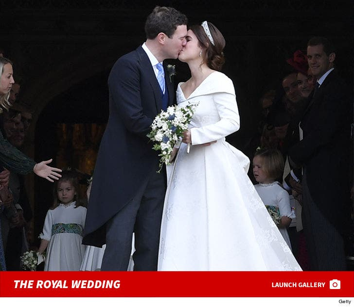 Princess Eugenie And Jack Brooksbank's Royal Wedding