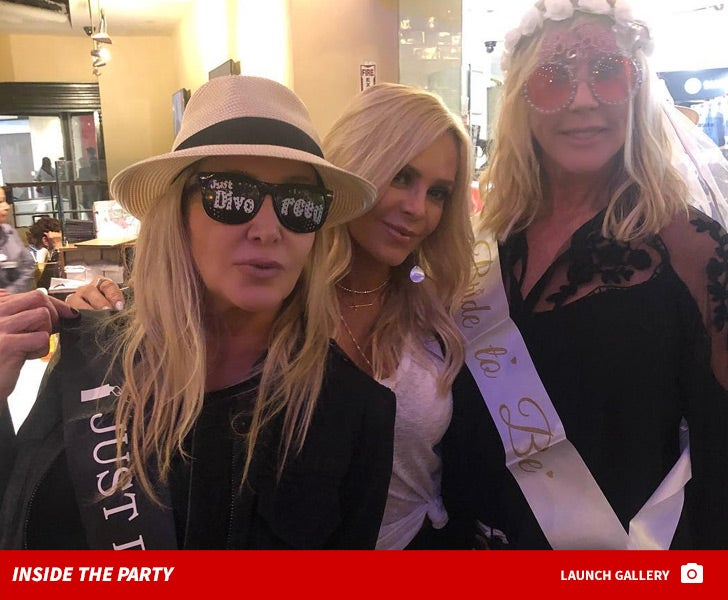 Vicki Gunvalson and Shannon Beador Celebrate Engagement and Divorce in Miami