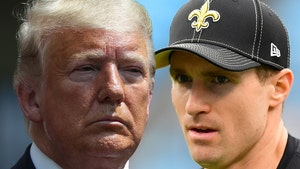 Donald Trump Says Drew Brees Shouldn't Have Apologized for Anti-Kneeling Comments