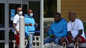 Kanye West Makes Walmart Run with Damon Dash