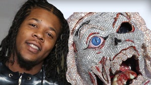Rowdy Rebel Blinging Straight Outta Prison, Buys $100k Demon Chain