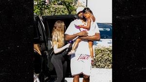 Khloe Kardashian & Tristan Thompson Attend True's Dance Class Together