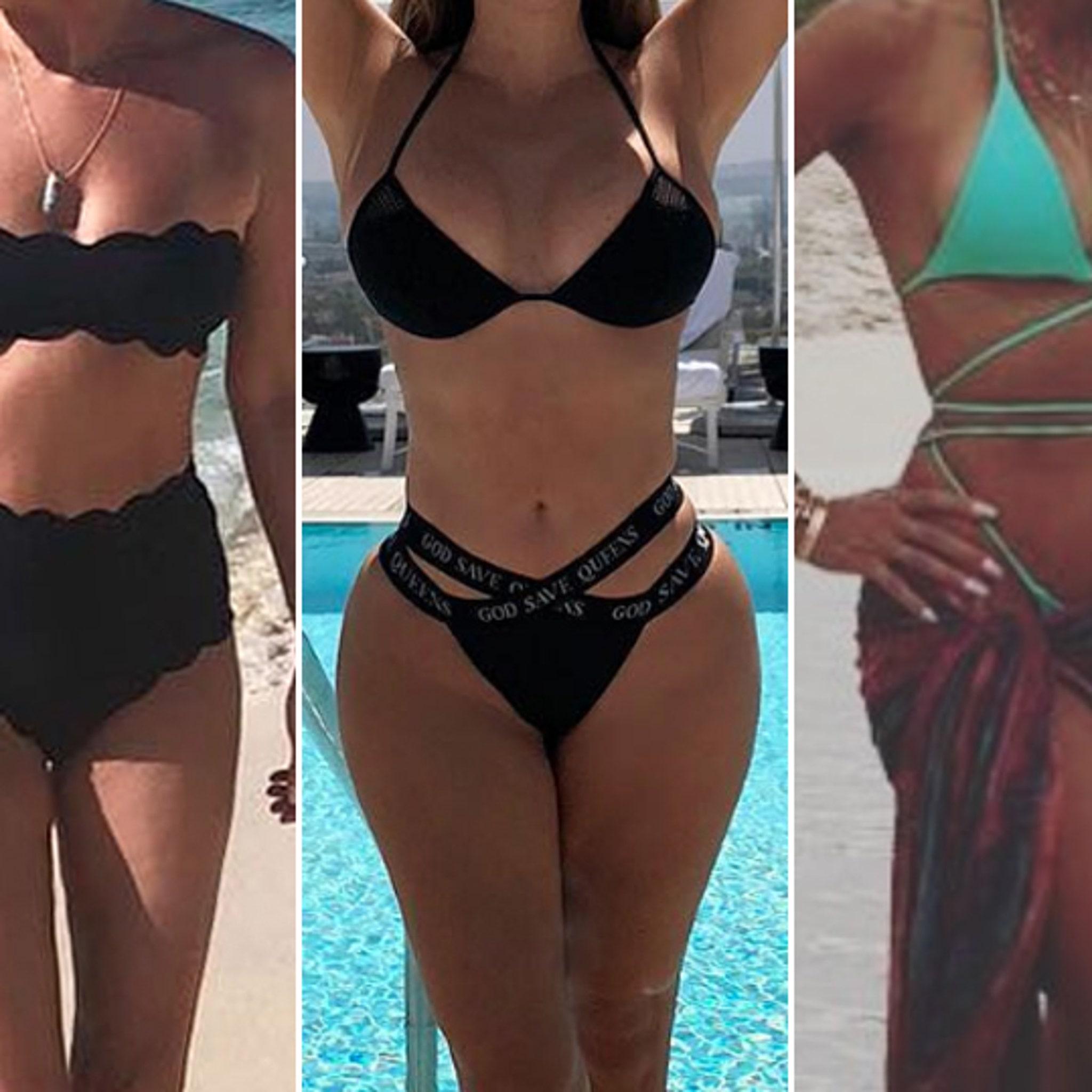 Asian bikini model nude pic