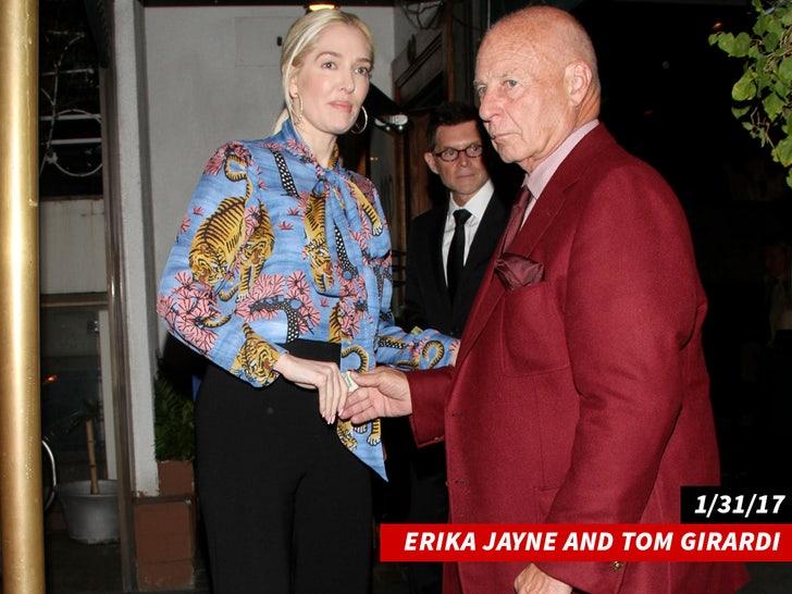 Erika Jayne and Tom Girardi