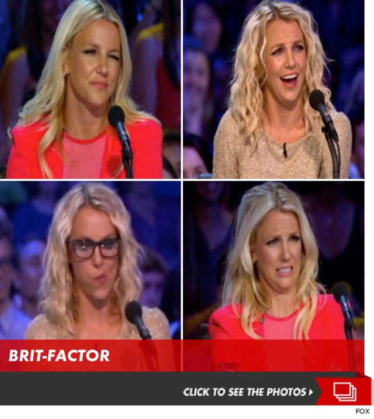 Britney Spears -- The Many Faces of 'The X Factor'