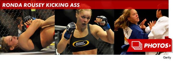 Ronda Rousey Kicking Ass