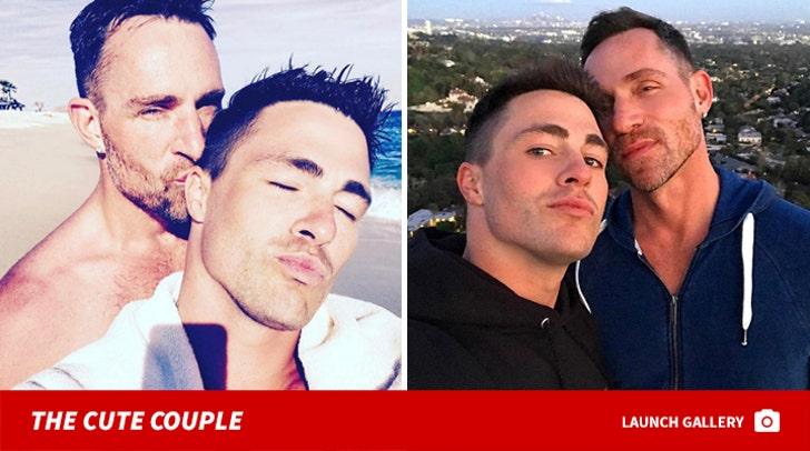 Colton Haynes and Jeff Leatham - Before The Split