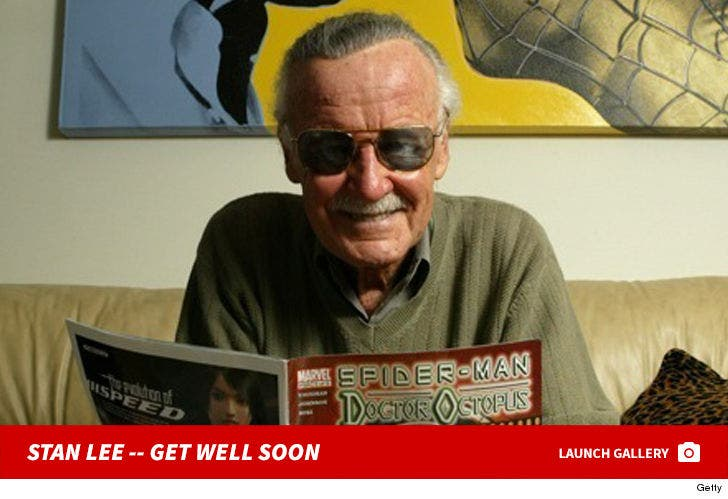 Stan Lee Through the Years