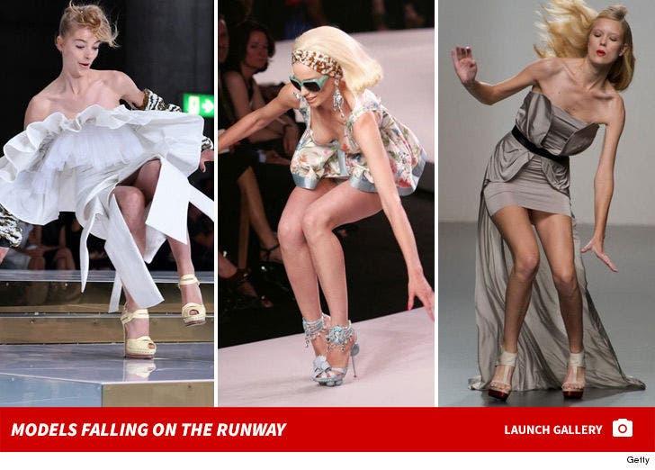 Models Fallin' On the Runway