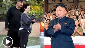 Pregnant Kim Kardashian's Weight -- Taking The Focus Off Kim Jong Un