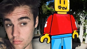 Justin Bieber Fills Out Home With Cartoon Artwork Before Listing It