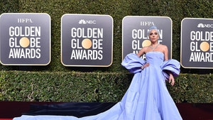 Lady Gaga's Golden Globes Dress Triggers Police Report