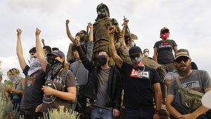 NM Militiaman Allegedly Shoots Protester in Standoff Over Statue