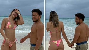 UFC's Henry Cejudo Hits the Beach with Smokin' Hot New Lady, Brazilian Model!