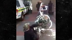 Cops Suspended After Disabled Man Dumped from Wheelchair in Cape Town