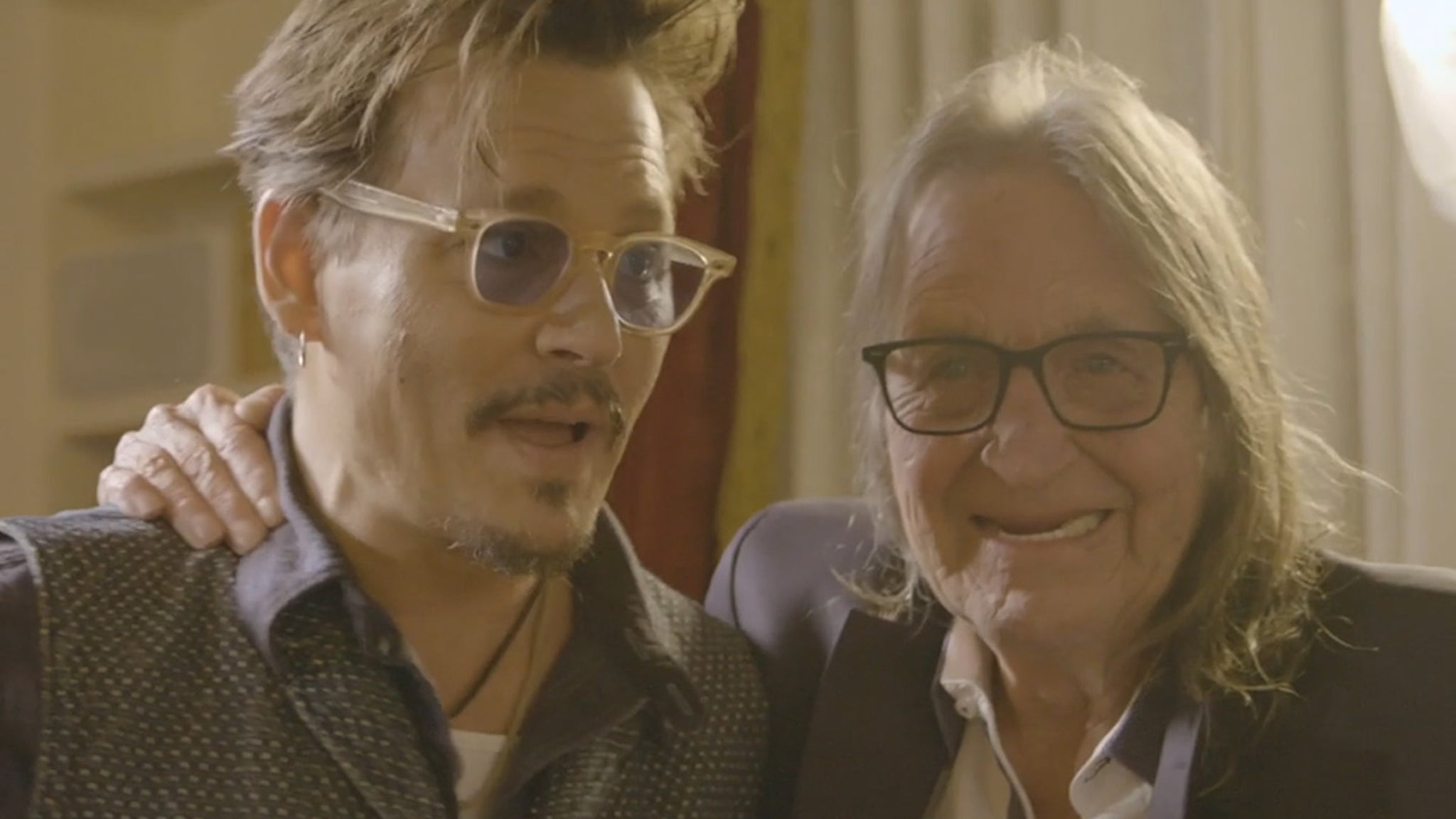 Johnny Depp Gushes Over George Jung in Docuseries - TMZ