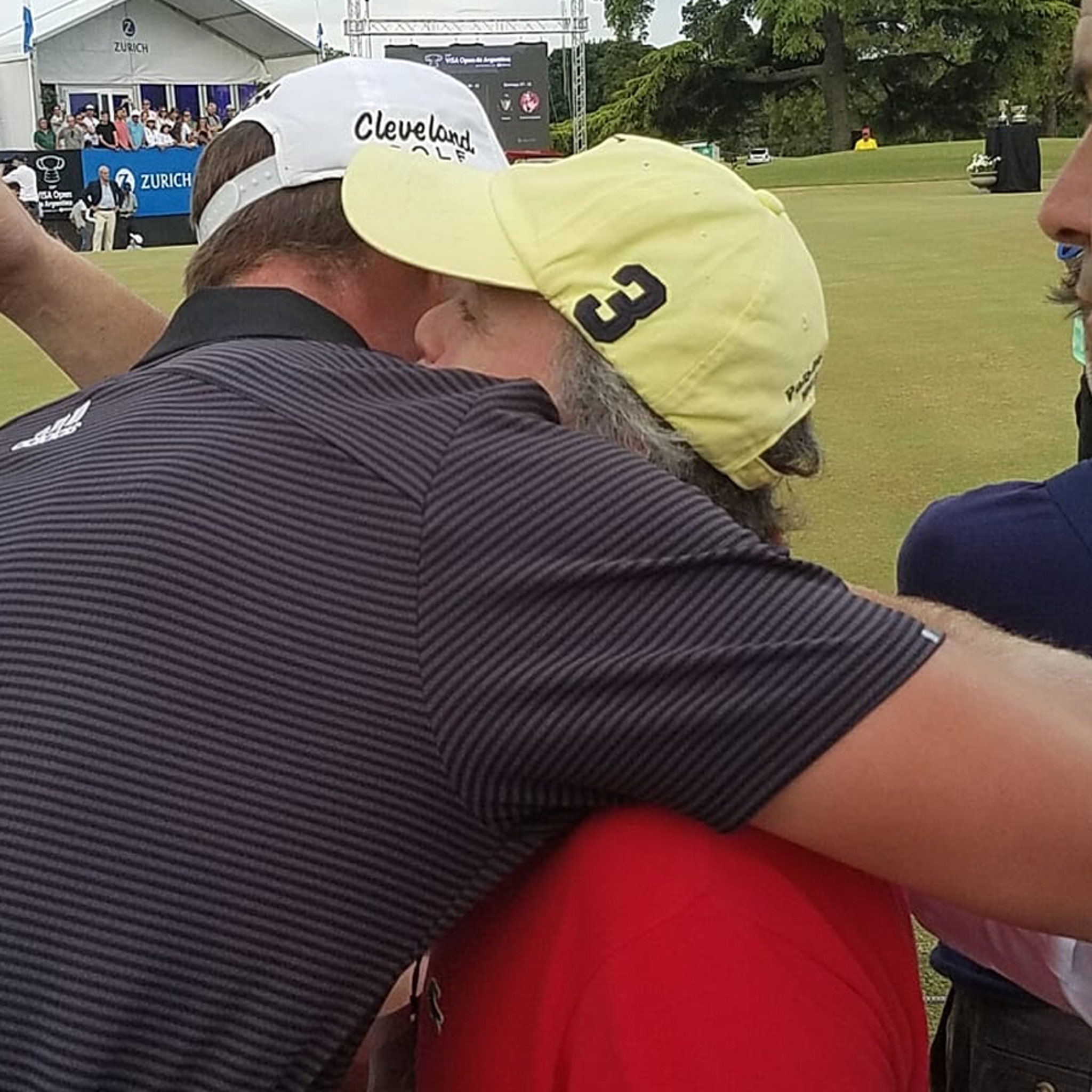 Pro Golfer Embraces Fan With Down Syndrome After He Yelled During Crucial Putt