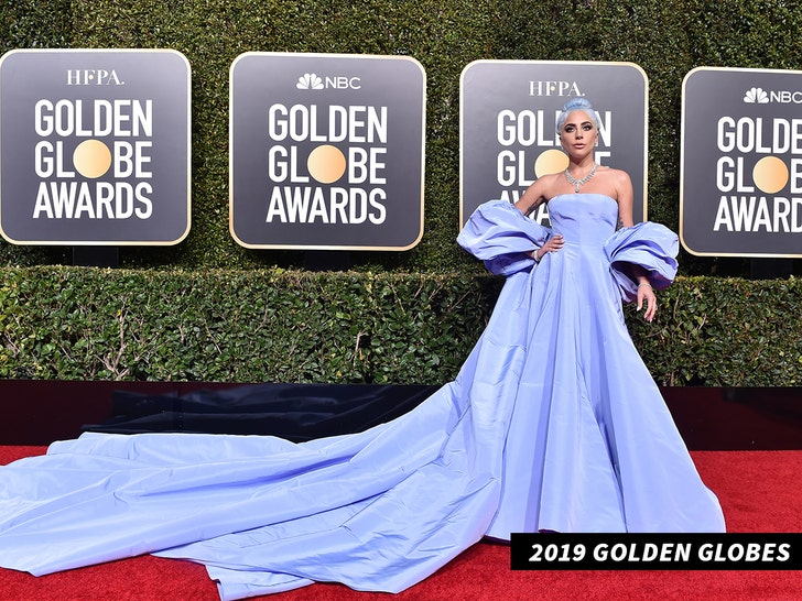 The 'controversial' story behind Lady Gaga's Golden Globes dress auction