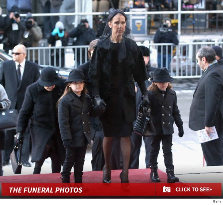 Rene Angelil's Funeral