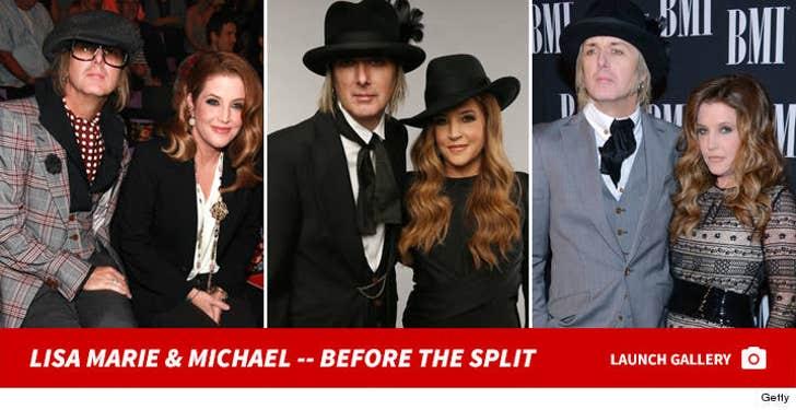 Lisa Marie Presley and Michael Lockwood -- Before the Split