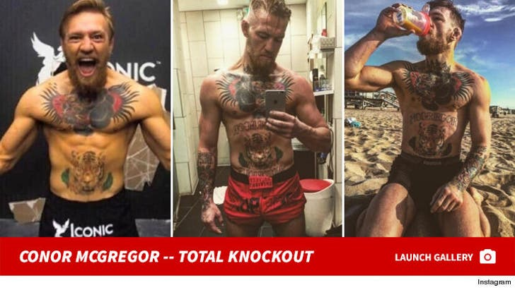 Conor McGregor -- The Total Knockout!