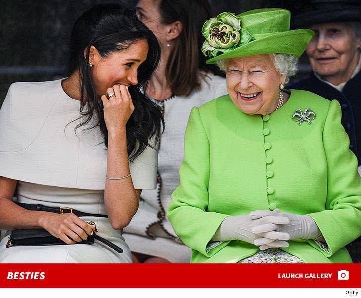 Meghan Markle and Queen Elizabeth -- Besties!