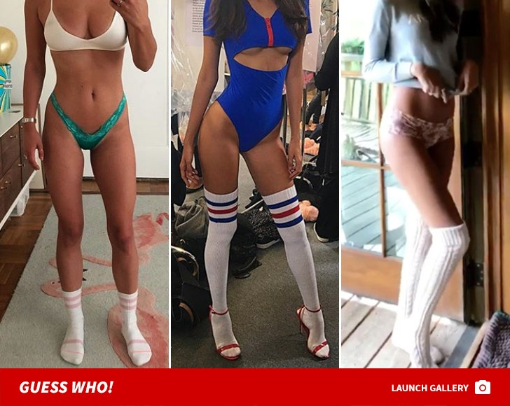Babes In Tube Socks -- Guess Who!