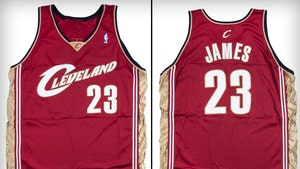 LeBron James Rookie Jersey Hits Auction Block, Could Break $630k Record