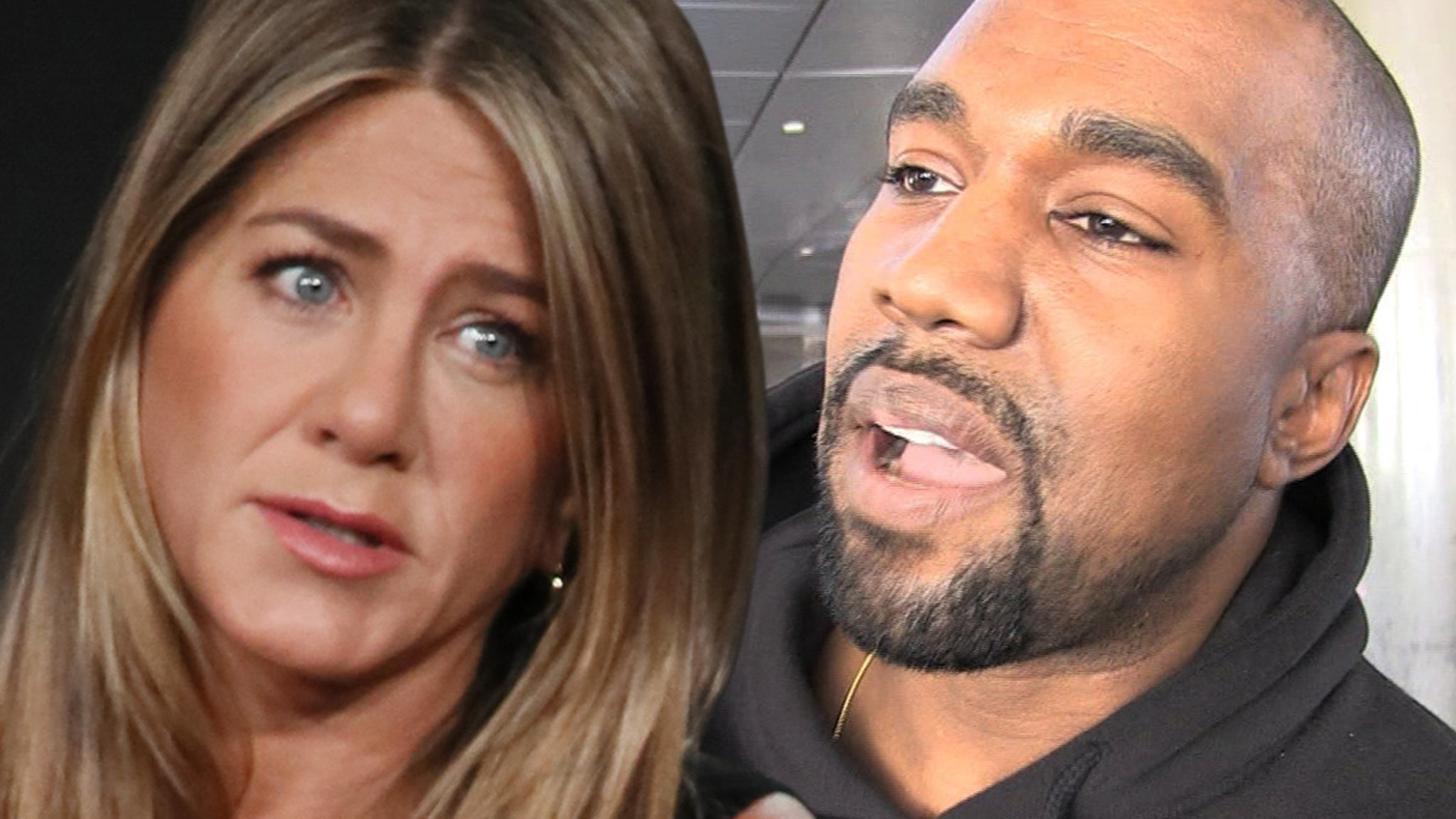 Jennifer Aniston Don't Vote Kanye ... Not Funny Or Responsible!!!