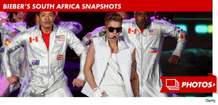 Justin Bieber's South Africa Snapshots