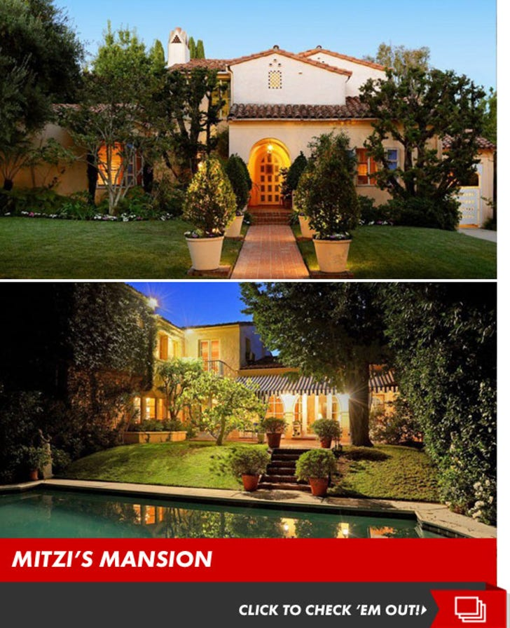 Mitzi Gaynor's Mansion -- For $ALE!
