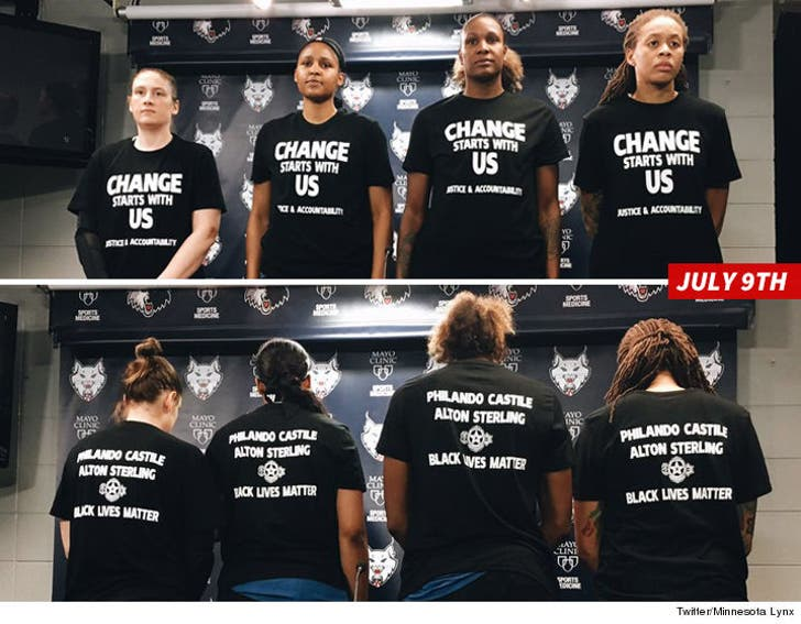 Tamika Catchings -- WNBA Backs Other Causes ... Why Not 'Black ...