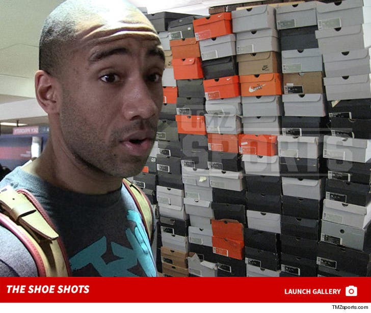 Dahntay Jones' Shoes