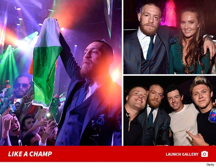 Conor McGregor - Celebrating Like A Champ
