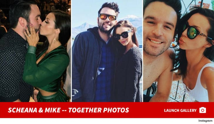 Scheana Shay and Mike Shay -- Happier Times