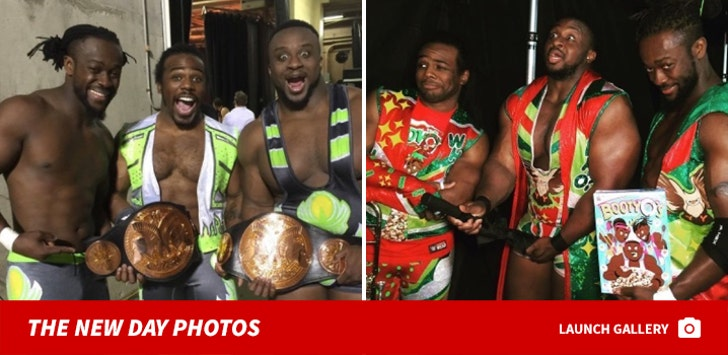 WWE The New Day Photos