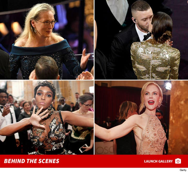 2017 Academy Awards -- Behind the Scenes
