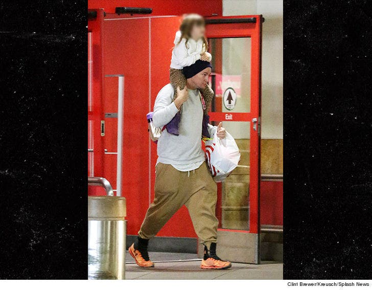 Channing Tatum Takes Daughter Shopping at Target After Jenna