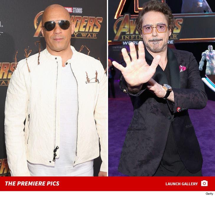'Avengers: Infinity War' Premiere Pics