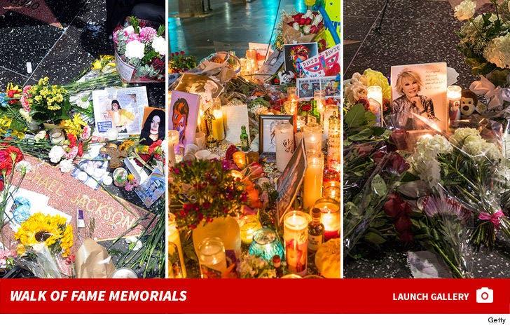 Hollywood Walk of Fame Memorials