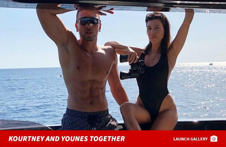 Kourtney Kardashian and Younes Bendjima Together