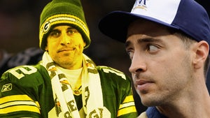 Aaron Rodgers LOSES Bet -- Probably Won't Pay Up ... Again